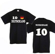 Deutschland Kindertrikot,Schland shirt mitWunschname+Wunschnummer alle Grö�Ÿen