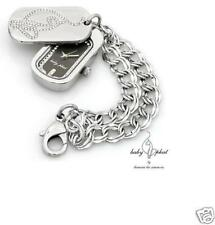 Necklace with Genuine Crystals Baby Phat Watch &