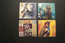 GB 1999  Commemorative Stamps Settlers Tale~Very Fine Used Set~UK Seller