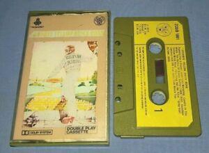 ELTON JOHN GOODBYE YELLOW BRICK ROAD PAPER LABELS cassette tape album A1589