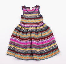 Girls Ella Moss Multi Color Knit Sleeveless Dress Size 10