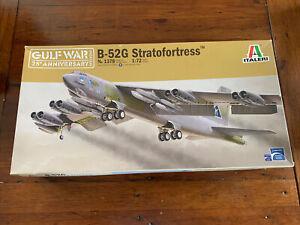 Italeri 1/72nd scale Boeing B52 G Stratofortress Gulf War 25th Anniversary.