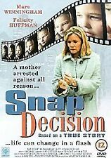 Snap Decision DVD VGC - True Story - FAST FREE UK P&P