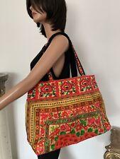 Bag Floral Embroidered Thailand Artusan Boho Chic Gift Women Spring