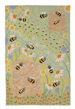 "Ulster Weavers, ""Daisy Bees"",  Pure linen printed tea towel."