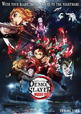 Demon Slayer The Movie: Mugen Train Movie Poster (24x36) - Bryce Papenbrook v2