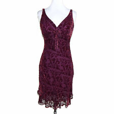Vintage 90s Purple Velvet Grunge Boho Gothic Lolita Dress approx size Small