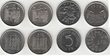 Lot de 4 monnaies commémorative 5 francs Suisse