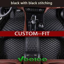 6 Colors Leather Floor Mats for Nissan juke 2010-2016 Waterproof Carpets Liner