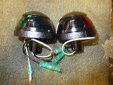 NEW Attwood Red & Green Navigation Bow lights (Pair) 912079 Series