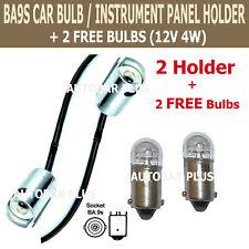 HIGH QUALITY BA9s 989 233 INSTRUMENT  BULB HOLDER SIDE LIGHT LAMP CAR 170790