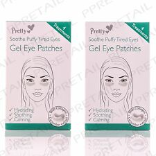 8 TREATMENTS GEL UNDER EYE PATCHES Collagen/Cucumber Extract Hydrating/Soothing