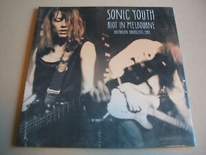 Sonic Youth - Riot In Melbourne 2 × Vinyl, LP Clear  mint sealed new