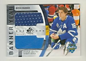 2020-21 SP GAME USED BANNER YEAR DUAL JERSEY RELIC MITCH MARNER Maple Leafs