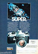 PUBLICITE ADVERTISING 096  1980  Pentax  appareil photo ME Super