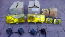 Ferrari F40 348 355 456 Mondial HELLA Euro French Yellow Headlights Foglights