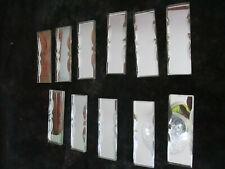 11 portes couteaux vintage miroir