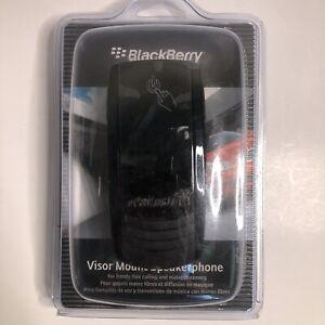 BlackBerry Visor Mount Bluetooth Speakerphone Hands Free Car Kit VM-605, NEW