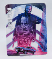 JOHN WICK - Glossy Fridge or Bluray Steelbook Magnet Cover (NOT LENTICULAR)