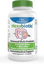 Dr. Formulas Nexabiotic Probiotics with 23 Probtiotic Strains including Infantis