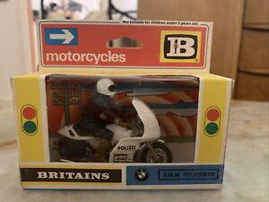 Britains BMW Policeman 9695 Excellent Condition