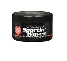 Sportin Waves Hair Gel Pomade (Black) 3.5oz