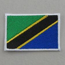 Tanzania Flag Small Iron On/ Sew On Cloth Patch Badge Appliqué Hot Fix Tanzanian