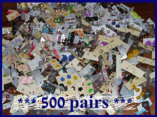 HUGE WHOLESALE LOT OF * 500 PAIRS * STUD EARRINGS