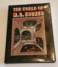 The World of M.C. Escher Art History Science Fiction English Ed Hardcover DJ