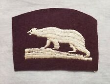 New ListingPolar bear patch. American Expeditionary force, North Russia.