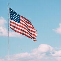 150D Nylon American Flag USA 2x3 ft Stars & Stripes United States Oxford Cloth #