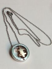 Autism Awareness Puzzle Pendant necklace Designer stainless steel