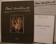 Sarah Moon signiert Katalog Fotografie Original Unterschrift Signatur Autogramm