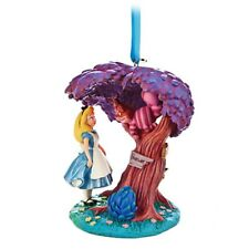 Disney Alice in Wonderland And Cheshire Cat Sketchbook Ornament Figure
