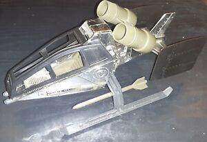 Vintage 1990 SKYHAWK G.I. Joe Sky Patrol Chrome Hasbro Vehicle Action Figure