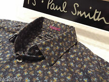 "PAUL SMITH Mens Shirt 🌍 Size 15"" (CHEST 40"")🌎 RRP £95+ 📮 FLORAL LIBERTY STYLE"