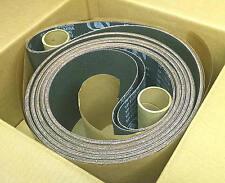 """4 Sanding Belts 6"""" x 360 Long x 280 Grit NORTON Belt Sander grinder Extra Length"""