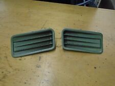 GENUINE FORD MUSTANG 67/68 METAL UPPER EXTERIOR SIDE VENTS X 2 RARE FIND! NICE