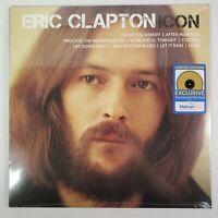 ERIC CLAPTON ICON (LP EXCLUSIVE WALMART LIMITED Translucent Tan Vinyl Record)