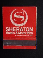 SHERATON HOTELS & MOTOR INNS RESERVATRON II MATCHBOOK