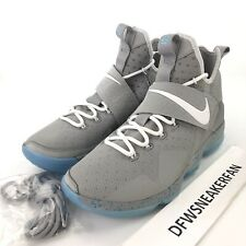 finest selection 6af4f ddc19 Nike Lebron 14 XIV Marty Mcfly Men s Size 9.5 basketball shoes 852405-005  New