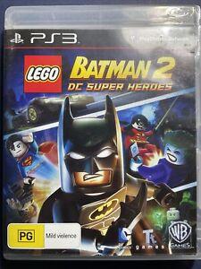 PS3 Lego Batman 2 DC Super Heroes includes Game Manual