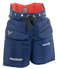 "New Vaughn 7460 ice hockey goalie goal pants pant senior sr size 38"" large navy"