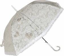Damen-accessoires Original Regenschirm Weidenherz Regenschirme Stockschirm Herzen Holzherz Geschenkidee