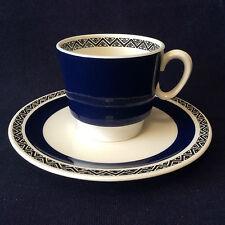 Villeroy et Boch Sarre Saar tasse soucoupe modèle Saphir porcelaine Deutsch 1960