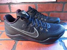 Nike KOBE XI 11 Dark Knight Mens Shoe Size 8 NEW 836183-001 Black Cool Grey