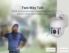 SH028 IP AUDIO CAMERA ONVIF WIFI WIRELESS HD MOTORIZZATA H.264 P2P SriHome