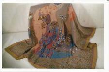 BOTTEGA VENETA 1970's Vintage 100% Silk Scarf