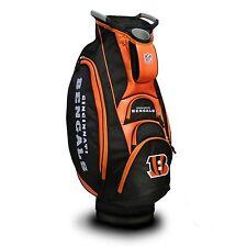New Team Golf Nfl Cincinnati Bengals Victory Cart Bag
