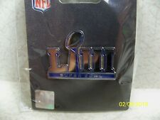 Limited - 2019 Nfl licensed Super Bowl Liii, 53 collectible Rams vs Patriots pin